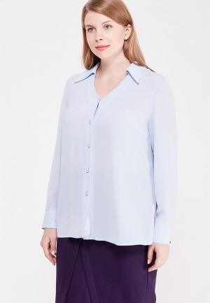 Блуза Lina. Цвет: голубой
