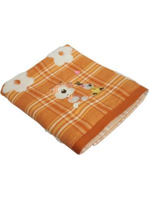 Полотенце, серия Веселые зверята, 50*75 Dorothy's Нome. Цвет: оранжевый