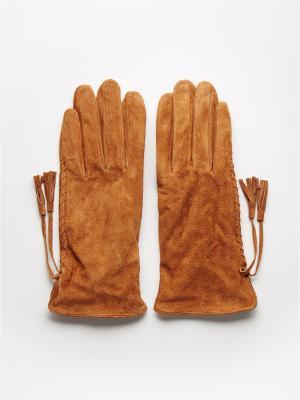 Перчатки Mohito. Цвет: коричневый, золотистый