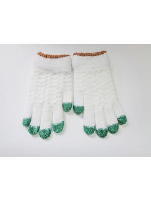 Перчатки Cascatto. Цвет: белый