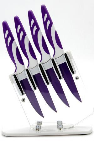 Набор ножей 4 пр. Mayer&Boch. Цвет: фиолетовый
