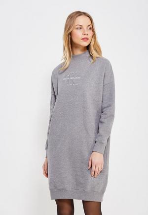 Платье Calvin Klein Jeans. Цвет: серый
