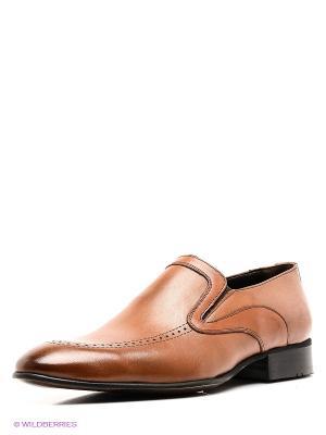 Ботинки METROPOLPOLIS. Цвет: коричневый