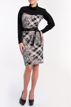 Платье MoNaMod. Цвет: серый