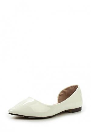 Балетки Sweet Shoes. Цвет: белый