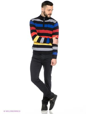 Свитер Mavango. Цвет: черный, синий, красный