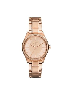 Часы Armani Exchange. Цвет: розовый, золотистый