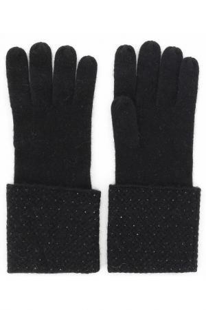 Перчатки William Sharp. Цвет: черный
