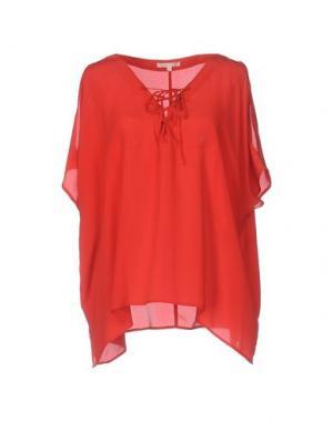 Блузка GOLD HAWK. Цвет: красный
