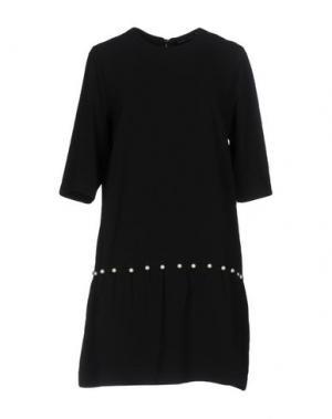 Короткое платье NAUGHTY DOG. Цвет: черный