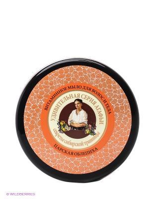 Мыло для волос и тела Витаминное Рецепты бабушки Агафьи. Цвет: оранжевый