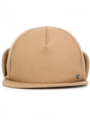 X Mackintosh cap Maison Michel. Цвет: коричневый