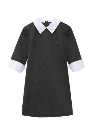 Платье Смена. Цвет: серый