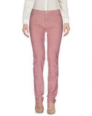 Повседневные брюки BLU BYBLOS. Цвет: розовато-лиловый
