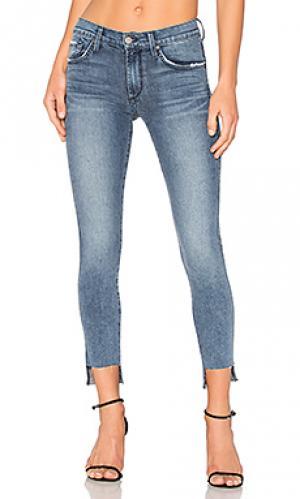 Скинни джинсы до лодыжек twiggy James Jeans. Цвет: none