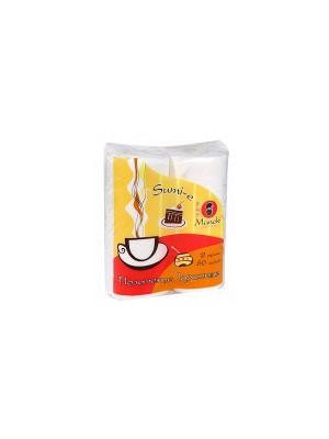 Полотенца кухонные бумажные Sumi-e 2 слоя, 60 л., белые, рулона/упаковка Maneki. Цвет: белый