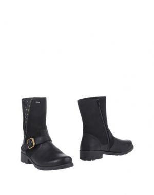 Полусапоги и высокие ботинки SUPERFIT. Цвет: черный