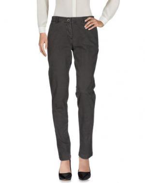 Повседневные брюки YUKO. Цвет: стальной серый