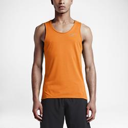 Мужская майка для бега  Dri-FIT Cool Tailwind Nike. Цвет: оранжевый