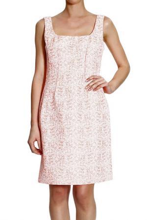 Платье Christian Dior. Цвет: оранжевый
