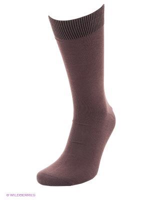 Носки Soxet. Цвет: коричневый