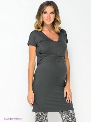 Платье Noppies. Цвет: темно-серый