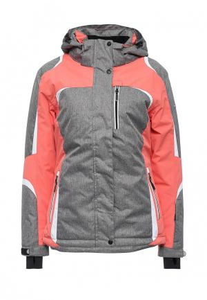 Куртка горнолыжная Ellesse. Цвет: серый