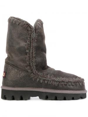 Ботинки Eskimo 24 ntain Mou. Цвет: серый