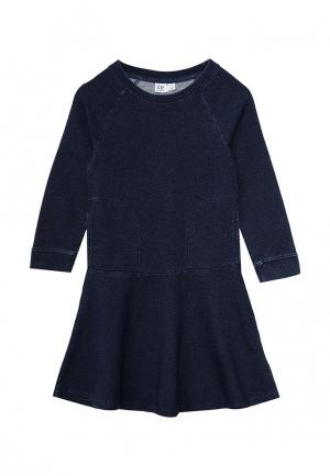 Платье Gap. Цвет: синий