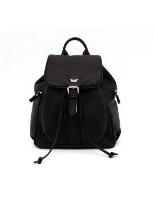 Рюкзак BarBara. Цвет: черный