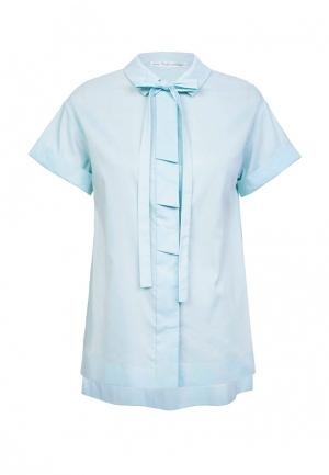 Блуза JN. Цвет: бирюзовый