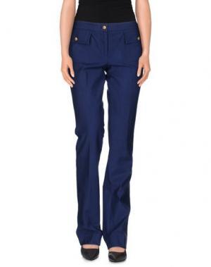 Повседневные брюки ROBERT RODRIGUEZ. Цвет: темно-синий