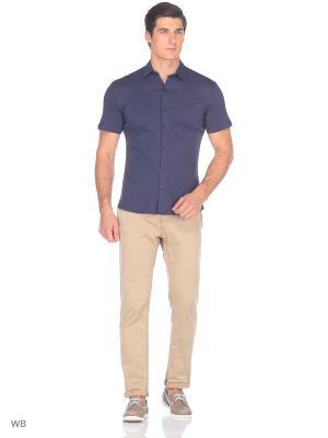 Рубашка JB casual. Цвет: темно-серый