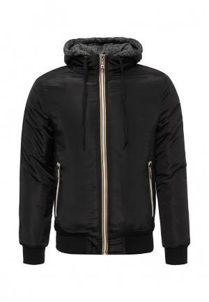 Куртка утепленная M&2. Цвет: черный