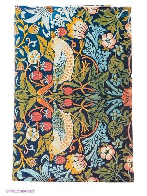 Обложка для паспорта Mitya Veselkov. Цвет: зеленый, голубой, желтый