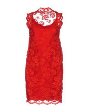 Короткое платье BALENSI. Цвет: красный