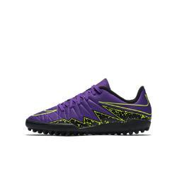 Футбольные бутсы для игры на газоне дошкольников  Jr. Hypervenom Phelon II Nike. Цвет: пурпурный
