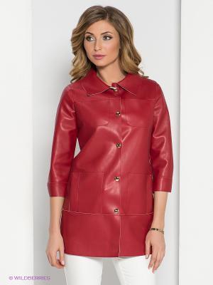 Пальто adL. Цвет: красный