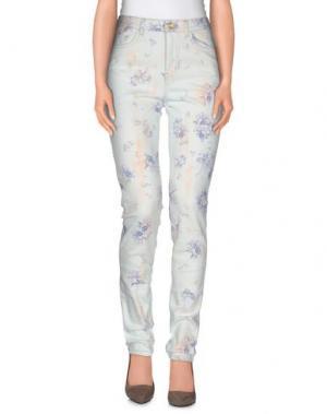 Джинсовые брюки CALLA. Цвет: небесно-голубой