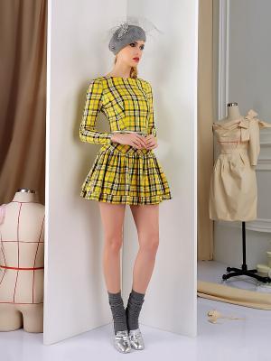 Платье Tasha Martens. Цвет: желтый