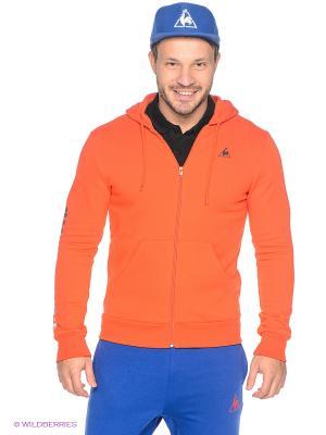 Толстовка Le coq sportif. Цвет: оранжевый