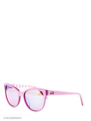Солнцезащитные очки ML 015S 02 MOSCHINO. Цвет: розовый