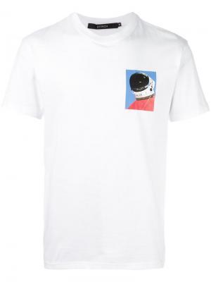 Футболка Astronaut Joyrich. Цвет: белый