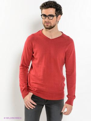 Пуловер Broadway. Цвет: красный