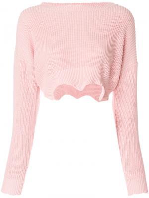 Джемпер Mercer Jovonna. Цвет: розовый и фиолетовый