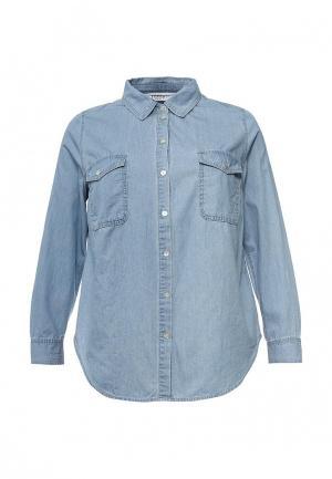 Рубашка джинсовая Studio Untold. Цвет: голубой