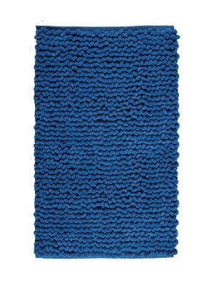 Коврик для ванной LUKA 60x100 Aquanova. Цвет: синий