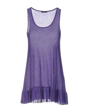 Топ без рукавов CARLA G.. Цвет: фиолетовый