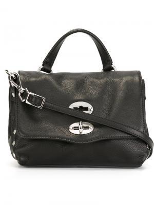 Маленькая сумка Postina Baby Zanellato. Цвет: чёрный