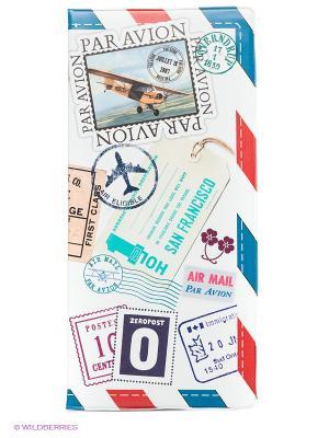 Обложка для путешествия Letter Kawaii Factory. Цвет: белый